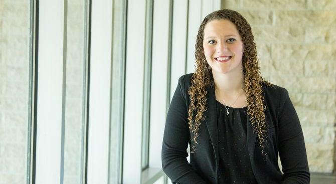 USI MBA graduate, Jenna Deisher